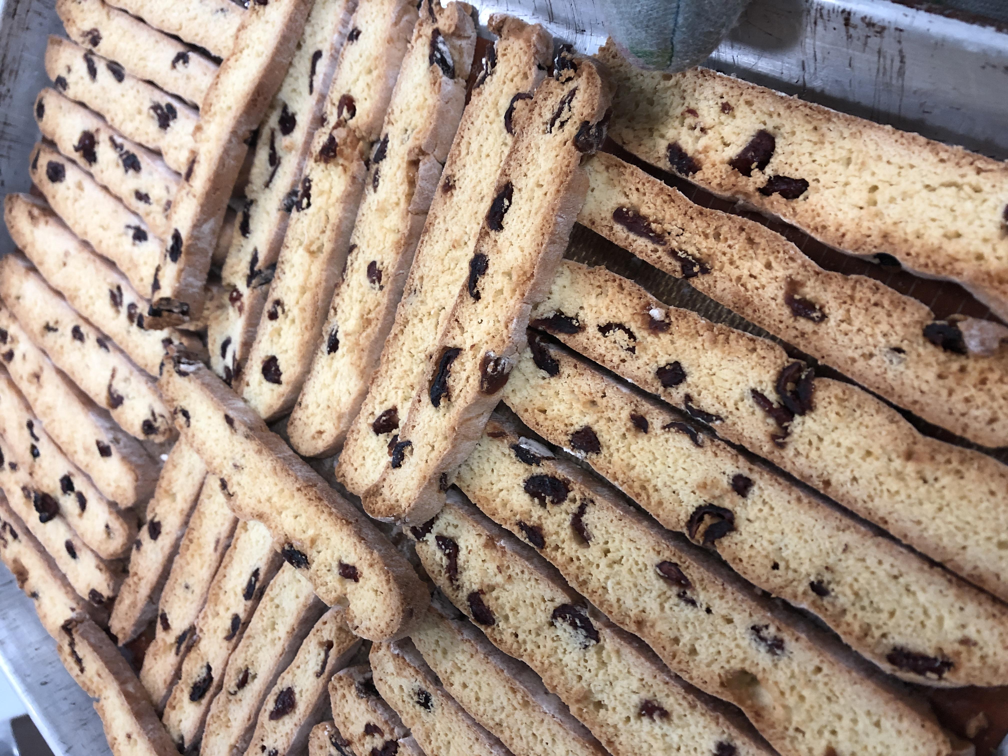 Biscotti à la canneberge