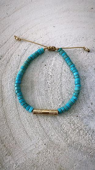 """Bracelet """"Bali"""" turquoise"""