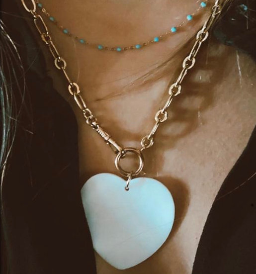 """Collier """"Lily's heart"""""""