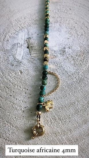 """Bracelet perlés 4 mm """"Beaded"""""""