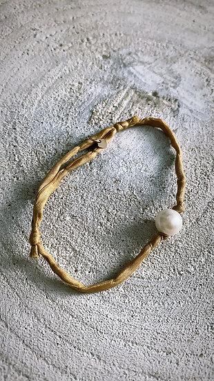 """Bracelet """"Silk freshwater"""""""