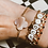 """Thumbnail: Bracelet """"Words"""" sur fil (choix du mot après achat à transmettre par message)"""