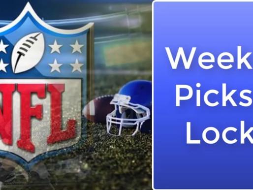 2020 Week 13 NFL Game Picks & Locks