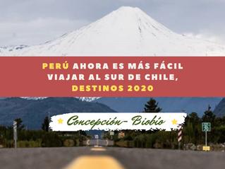 Perú ahora es más fácil viajar al sur de Chile: Nuevos vuelos Lima-Concepción