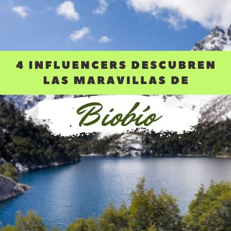 Lo que dijeron 4 periodistas e influencers extranjeros después de visitar Biobío