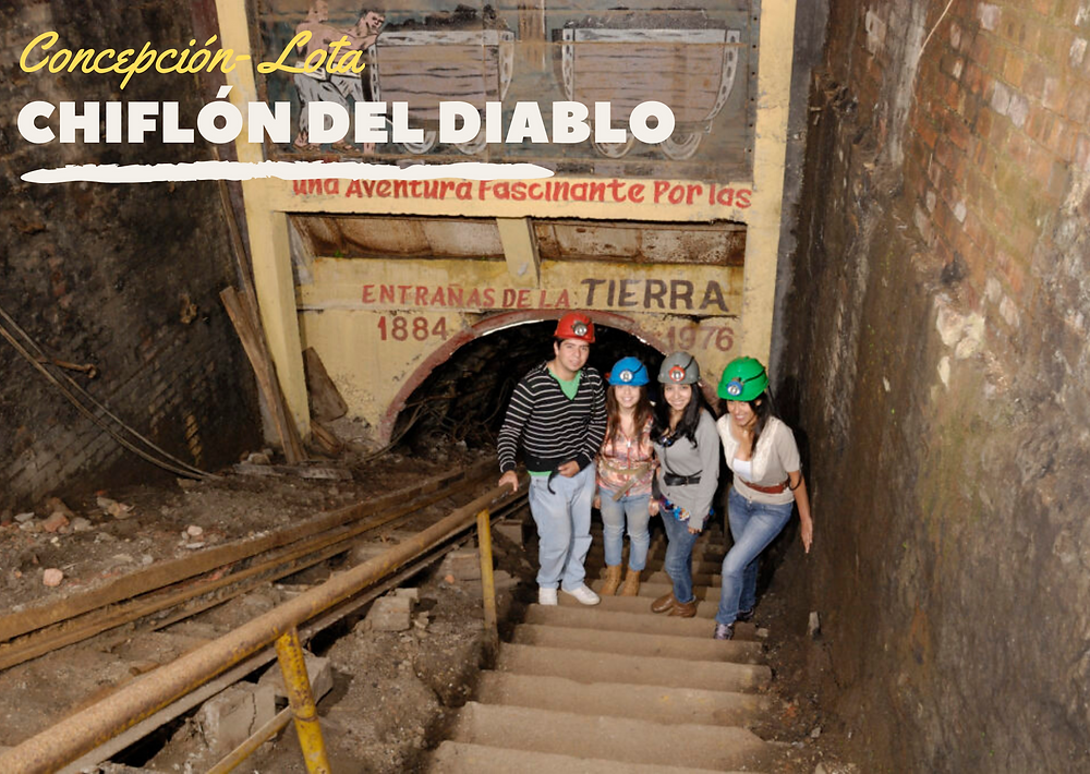 Viajar al sur de Chile: Chiflón del Diablo