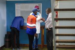 Health inspectors