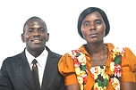 Pastor Blessington and Veronica Musonda,