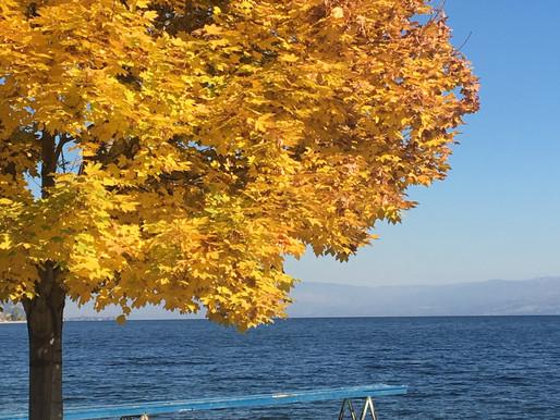 Peachland in the Autumn