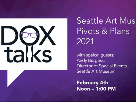 DOX TALKS:FEATURING ANDY BURGESS, EVENTS DIRECTOR