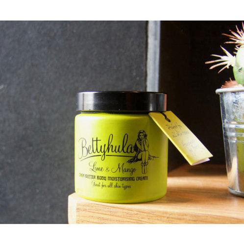 Shea Butter Body Moisturiser, Lime & Mango