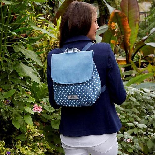 Spotty Backpack | Blue