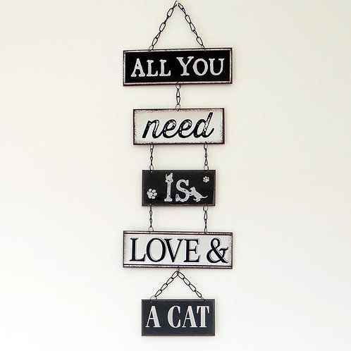 All You Need Is Love & A Cat Sign