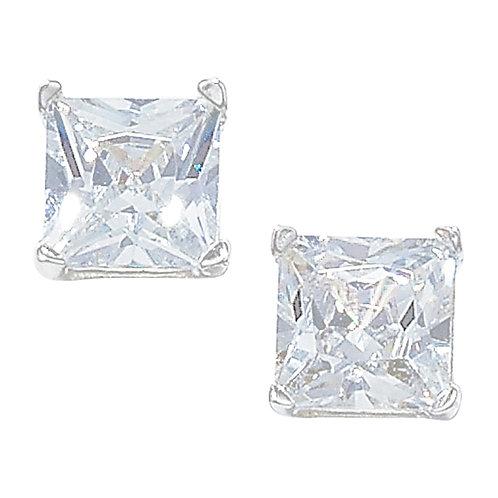 Sterling Silver 6mm Stud Earrings