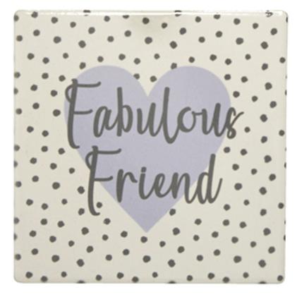 Fabulous Friend Coaster