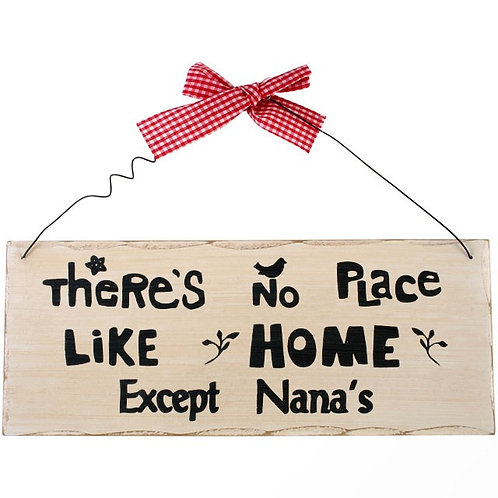 There's No Place Like Home Sign
