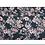 Thumbnail: Black Floral Modal Print Scarf
