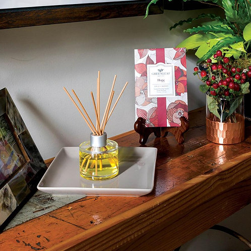 Greenleaf Hope Signature Reed Diffuser