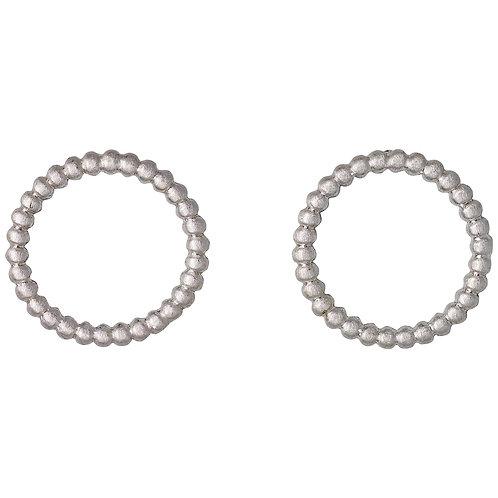 PILGIRM: Open Circle Dot Stud