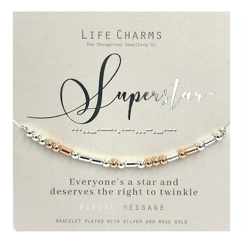 Life Charms, Superstar Bracelet