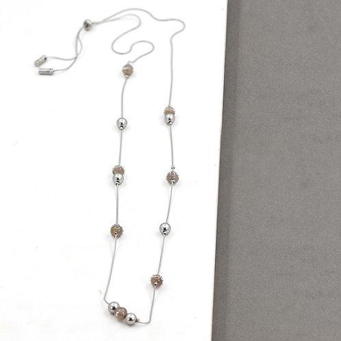 Long Single Strand Necklace