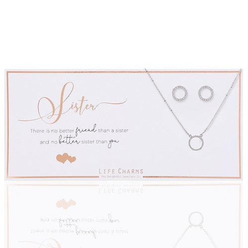 Life Charm Luxury Gift Set | Sister