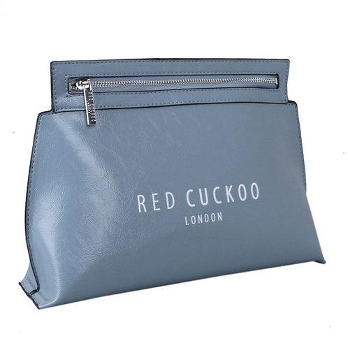 Red Cuckoo Blue Zip Crossbody