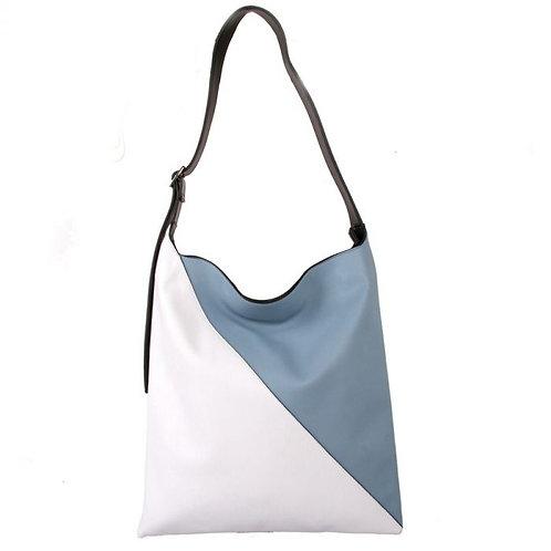Red Cuckoo Blue/White Shoulder Bag