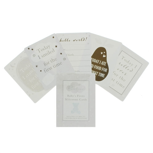 Baby Milestone Cards 15cm
