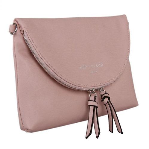 Red Cuckoo Pale Pink Envelope Crossbody Bag