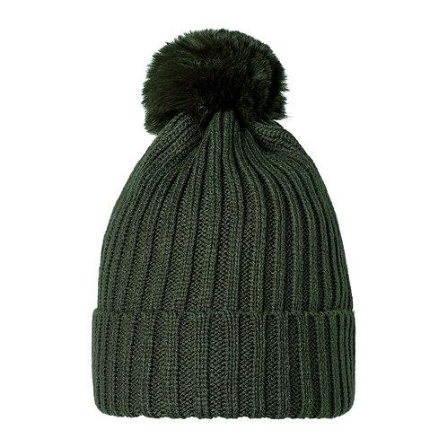 Beanie Hat Pom Pom | Green