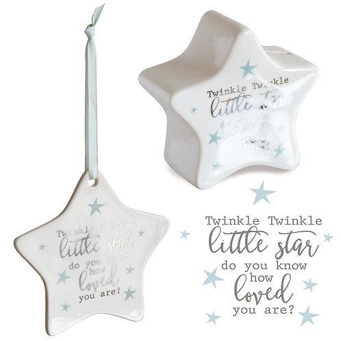 Star Money & Plaque Gift Set - Twinkle