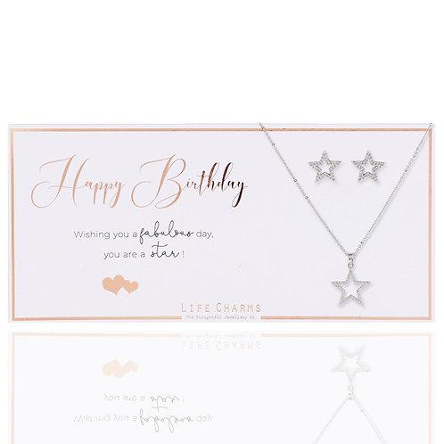 Life Charm Luxury Gift Set | Happy Birthday
