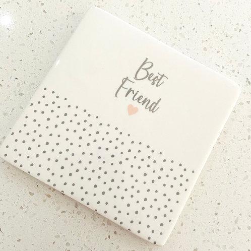 Best Friend Coaster