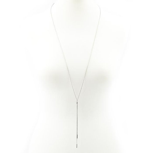 Elongated Snake Chain Necklace