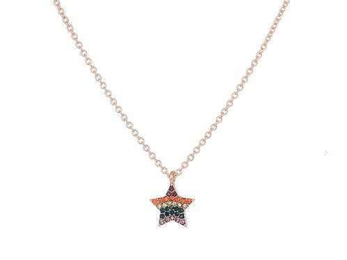 Star Rainbow Necklace