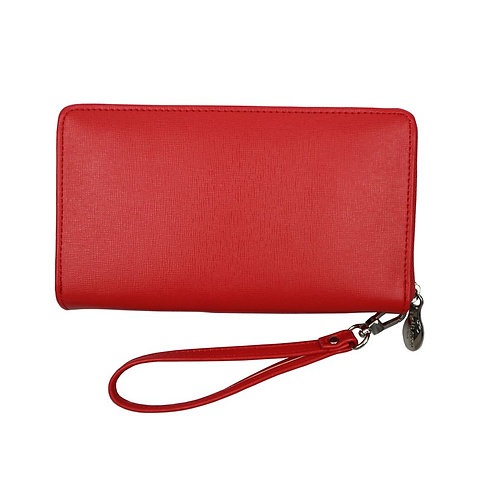 Red Cuckoo Red Purse Clutch