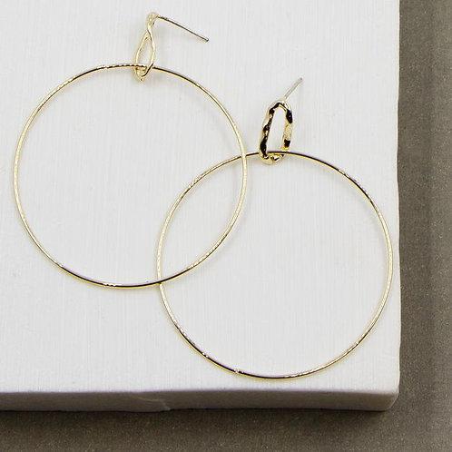 Slim Hoops Earrings