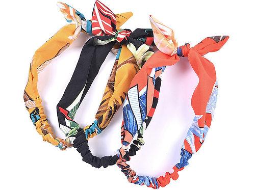 Tropical Leap Print Headband