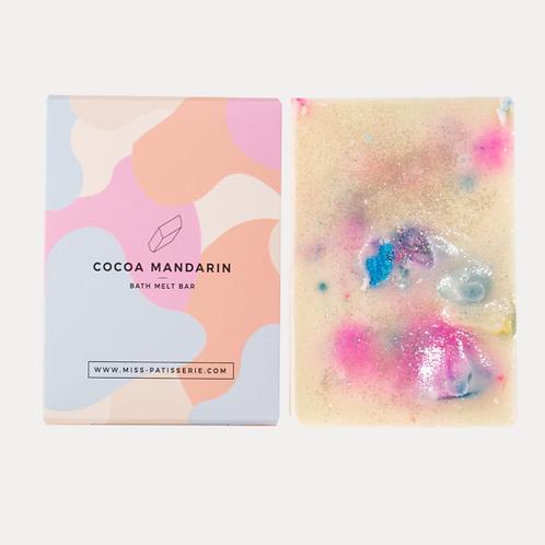 Cocoa Mandarin Bath Melt