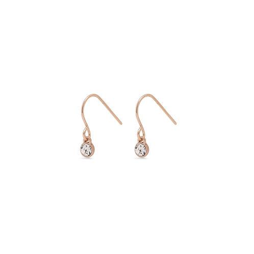 PILGRIM: Earrings: Lucia Rose Gold Earrings