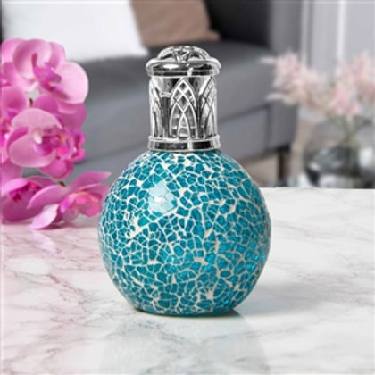 Glass Mosaic Fragrance Lamp | Teal