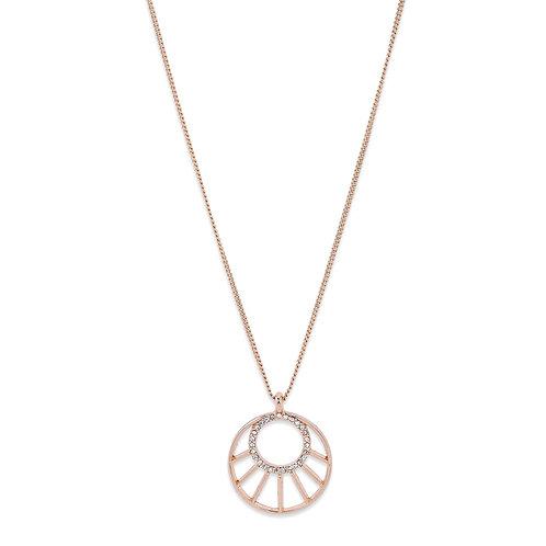 PILGRIM: Cassie Necklace Rose Gold