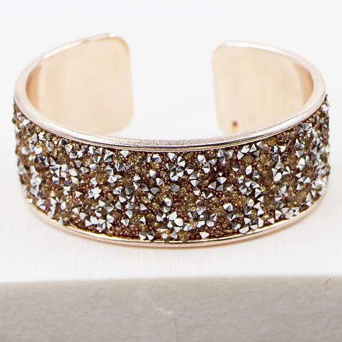 Crystal Encrusted Cuff Bangle | RG