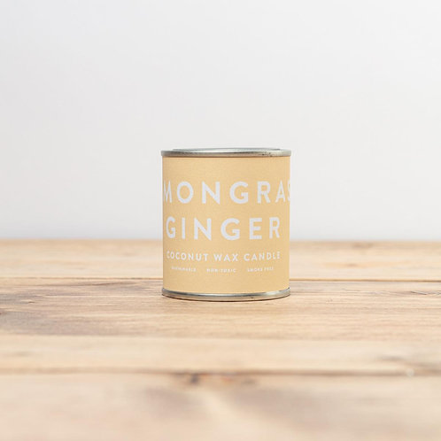 Lemongrass Ginger Conscious Candle