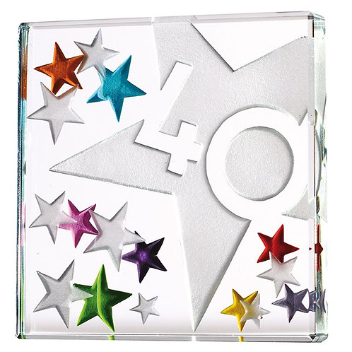 Spaceform Miniature Glass Token | 40