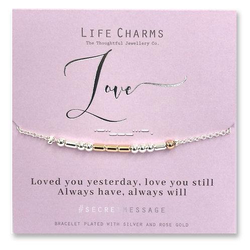 Life Charms, Love Bracelet