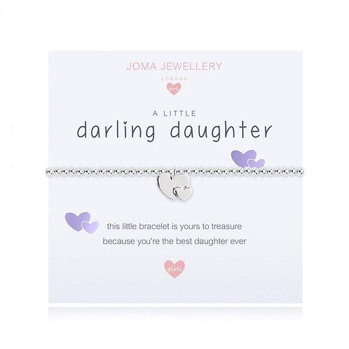 Children's A Little Darling Daughter Bracelet