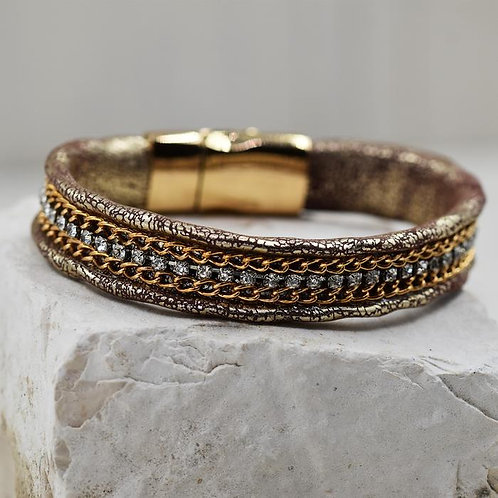 Chain Effect Detail Bracelet