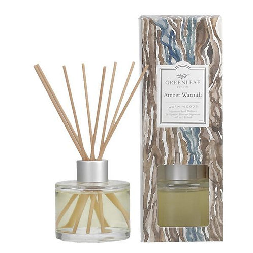 Greenleaf Amber Warmth Signature Reed Diffuser